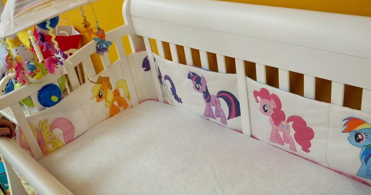 Madfoamingcat S Fumbled Creations My Little Pony Crib Set