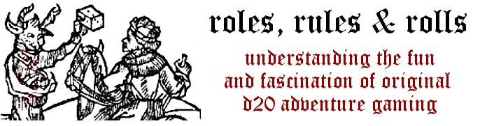 Roles, Rules, and Rolls