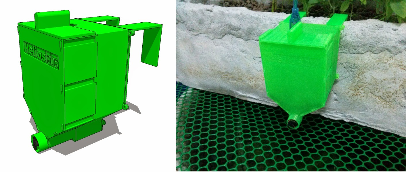 introduction id automatic and irrigation diy large fish feeder