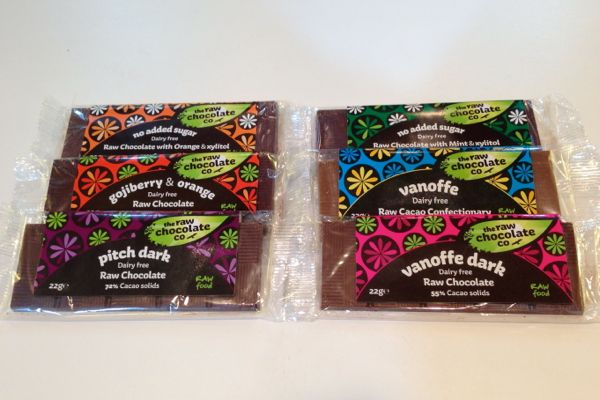The Raw Chocolate Company Vegan Chocolate Bars