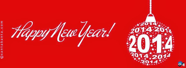 Happy New Year 2014 Facebook timeline covers