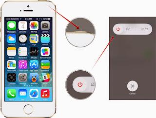 Cara reset iPhone atau iPad, Cara untuk mematikan atau restart iPhone atau iPad,