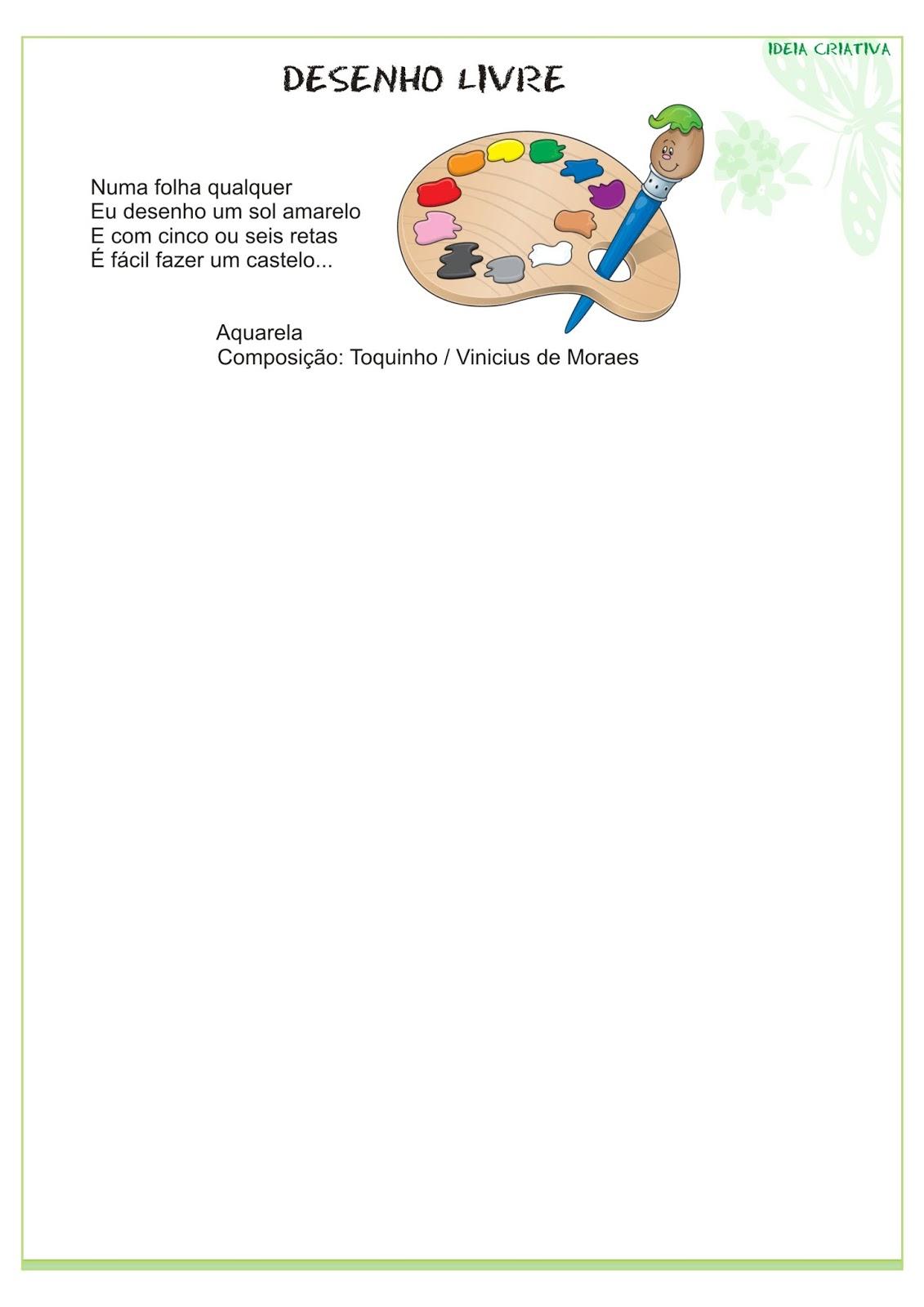 Modelo de Portfólio Educação Infantil