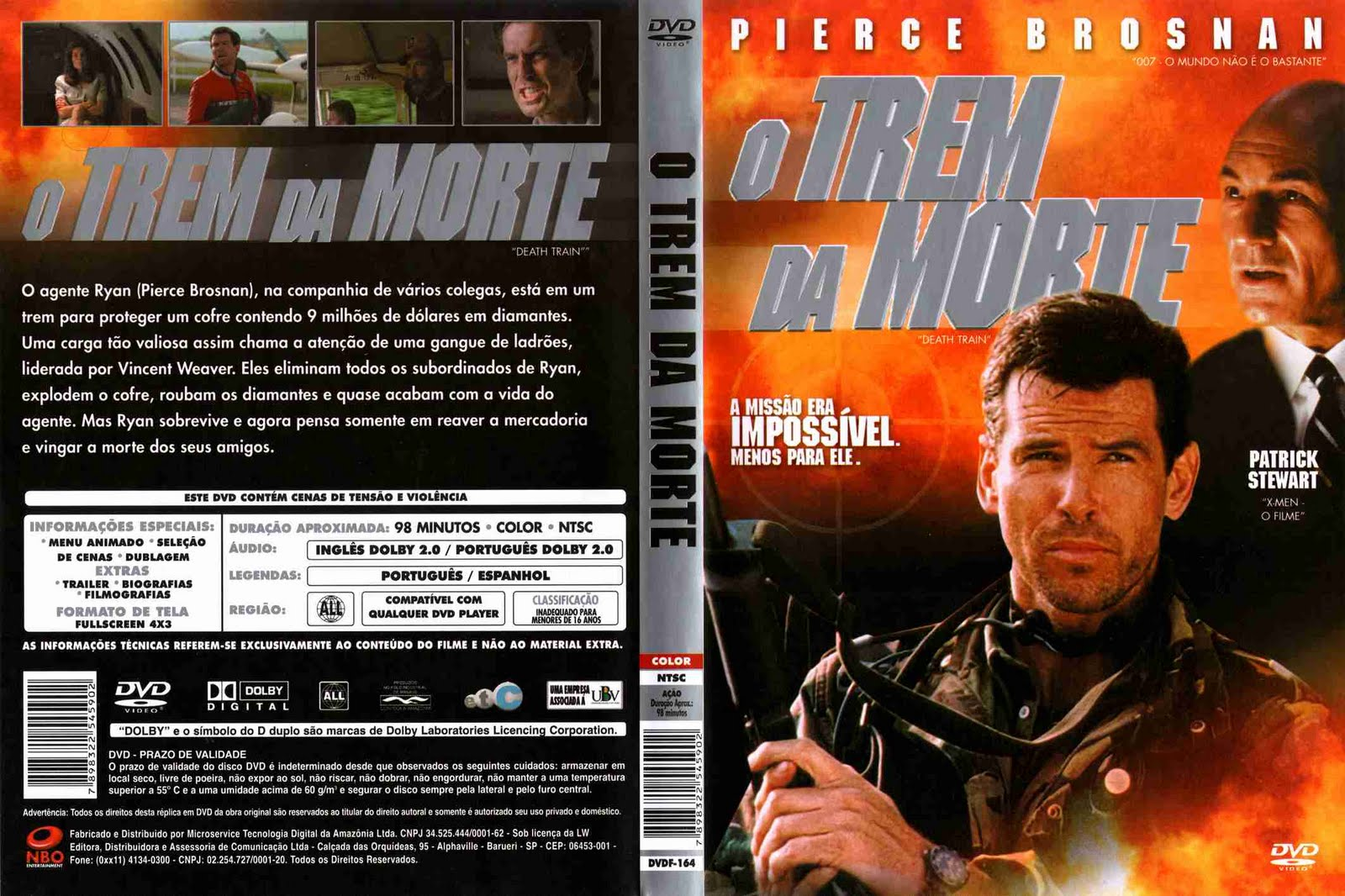 Capa DVD O Trem Da Morte