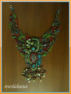 friform beadwork , Inspired by Angkor Vat