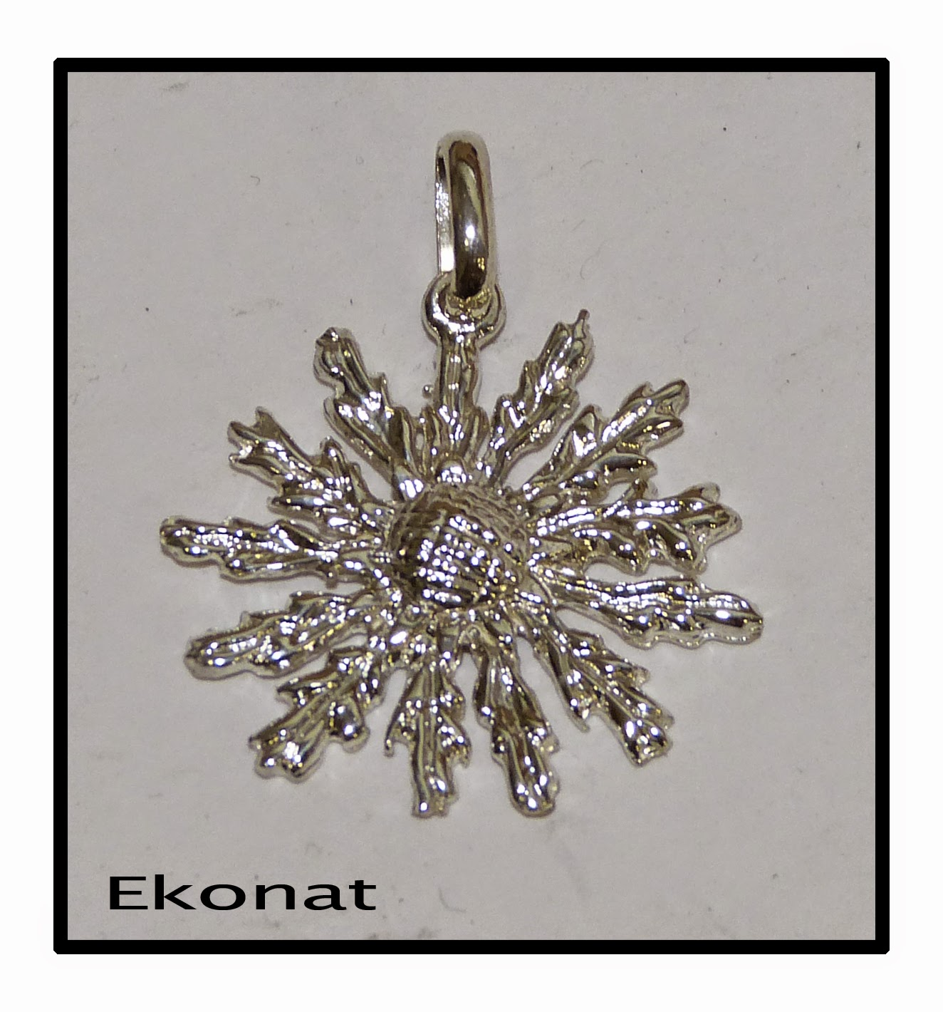 Joyer a artesanal personalizada en plata colgante eguzkilore en plata - Cuberterias de plata precios ...