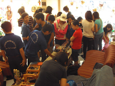 Cây pha lê Cát Tường với Saigon Crafts Fair - CayPhaLe.com