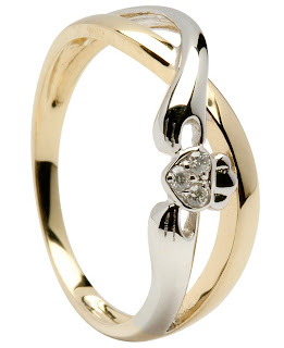 Claddagh Wedding Bands-diamond claddagh wedding