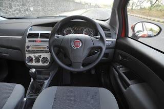 New Fiat Grande Punto interior