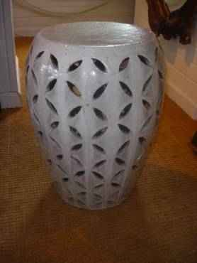 Crackle Lattice Garden Stool & The Smith Nest: Crackle Lattice Garden Stool islam-shia.org