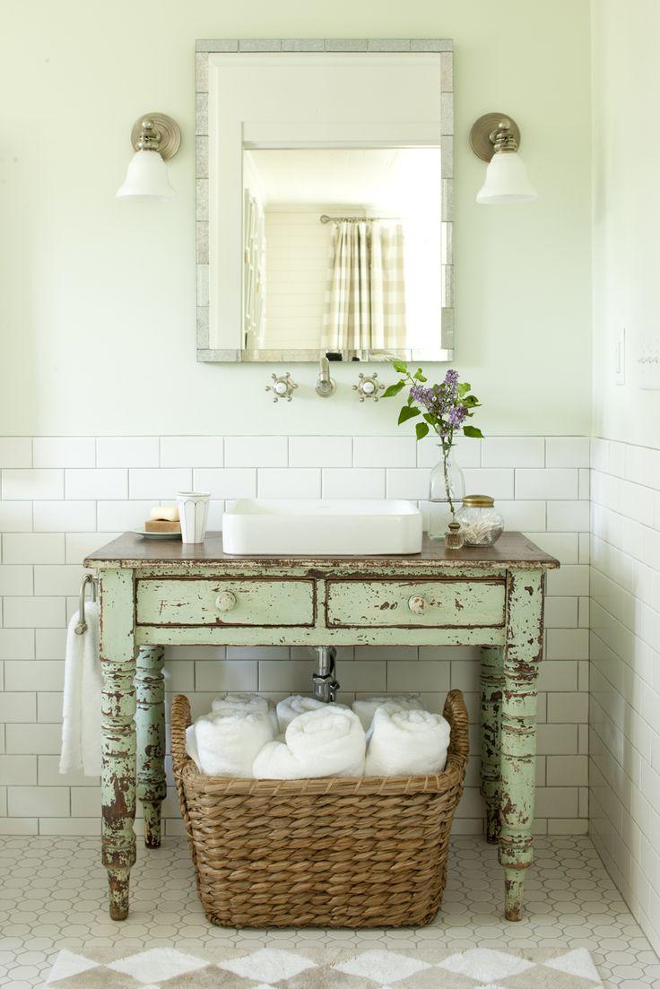 Modernizar ba o antiguo - Muebles de bano originales ...