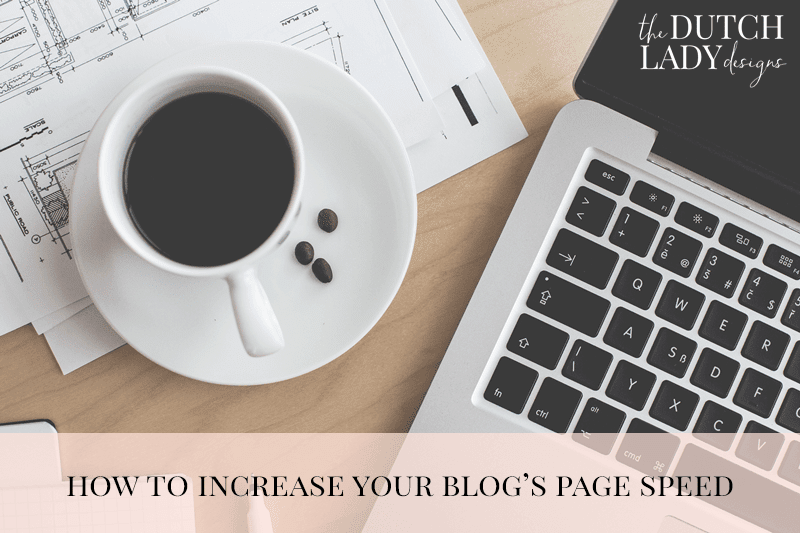 how to increase your blog's page speed