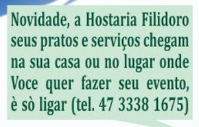NOVIDADE : a HOSTARIA FILIDORO na Sua Casa...