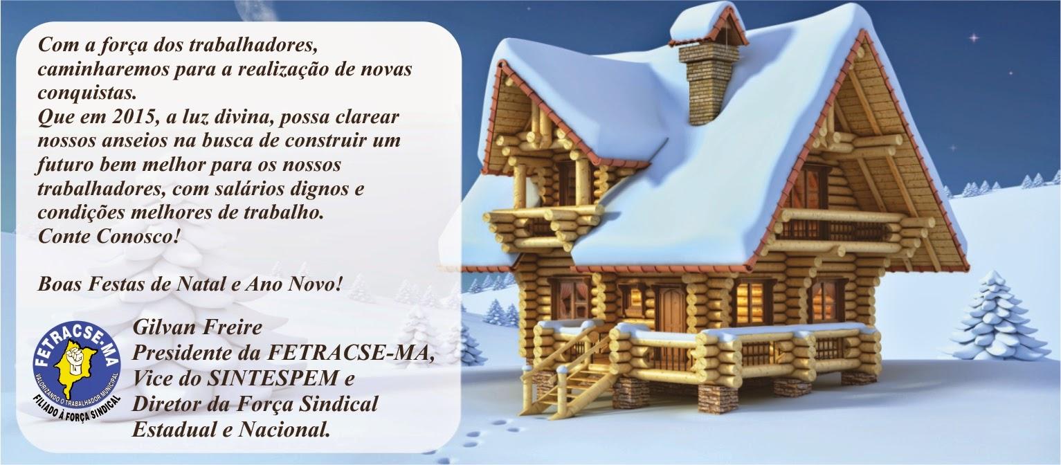 Feliz Natal e Boas Festas!