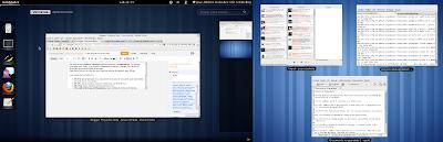 Imagen de Gnome Shell en Debian Squeeze