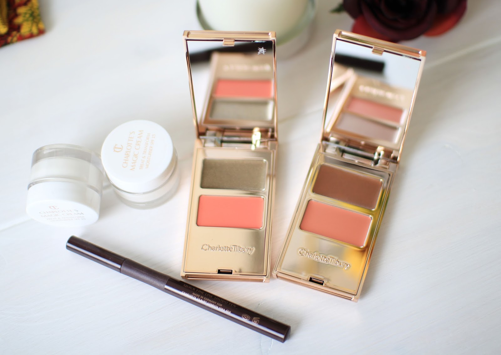 The Charlotte Tilbury Magic Products: The Magic Cream, Feline Flick and Filmstars on the Go