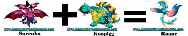 como obtener el monster raane en monster legends formula 3