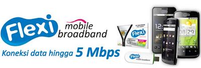 Tarif Flexi Mobile Broadband