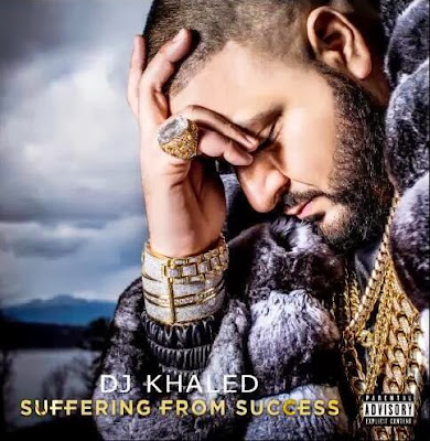 portada cover de suffering from success de dj khaled disco