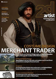 2DArtist Magazine Issue 88 April 2013