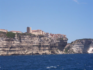 Bonifacio - star attraction in Corsica - France