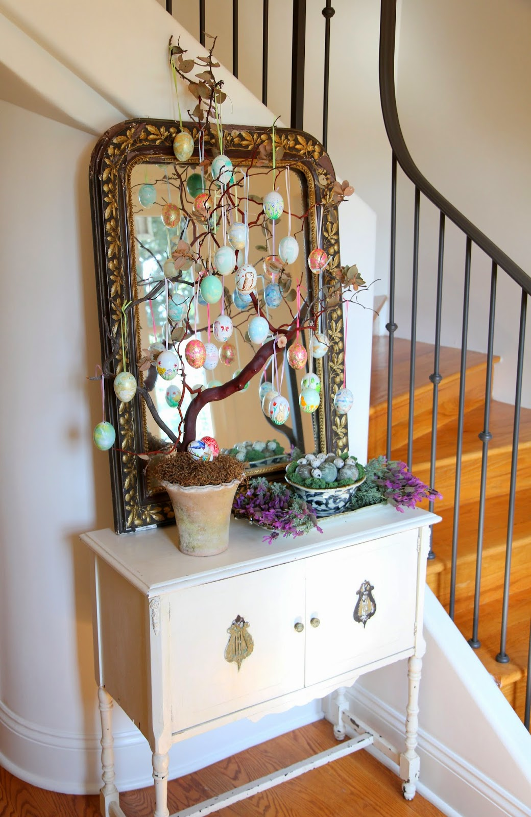 Home Decor for Easter Day; Easter Egg Tree; Nora's Nest