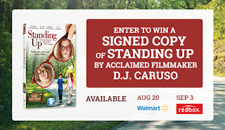 Enter to win a autographed copy of the Standing Up DVD. Giveaway ends 8/31.