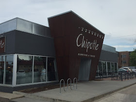 Chipotle restaurant storefront