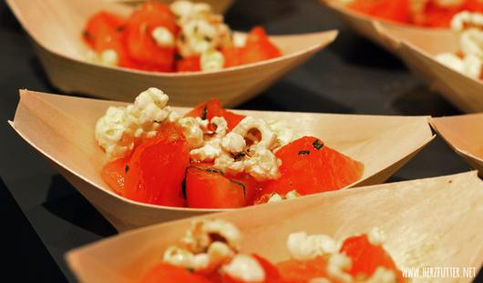 Tomaten-Melonensalat