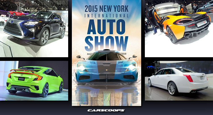 Original ToZ Guide To The 2015 New York Auto Show Day 2