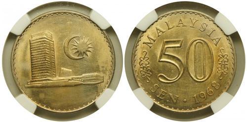 50 sen 1968