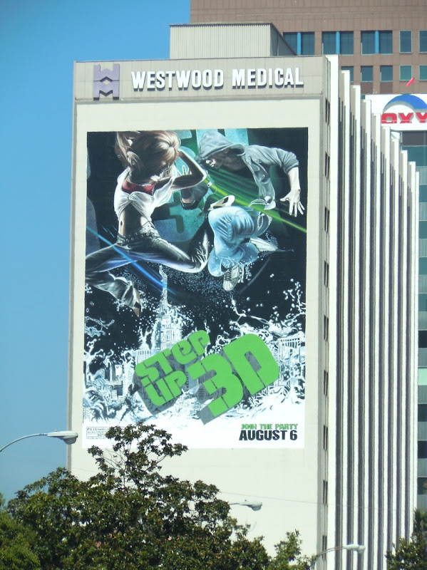 Giant Step Up 3D movie billboard