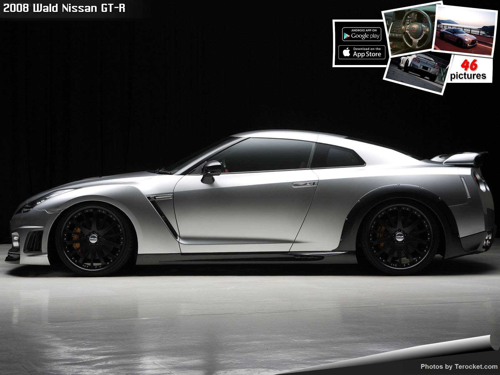 Hình ảnh xe độ Wald Nissan GT-R 2008 & nội ngoại thất