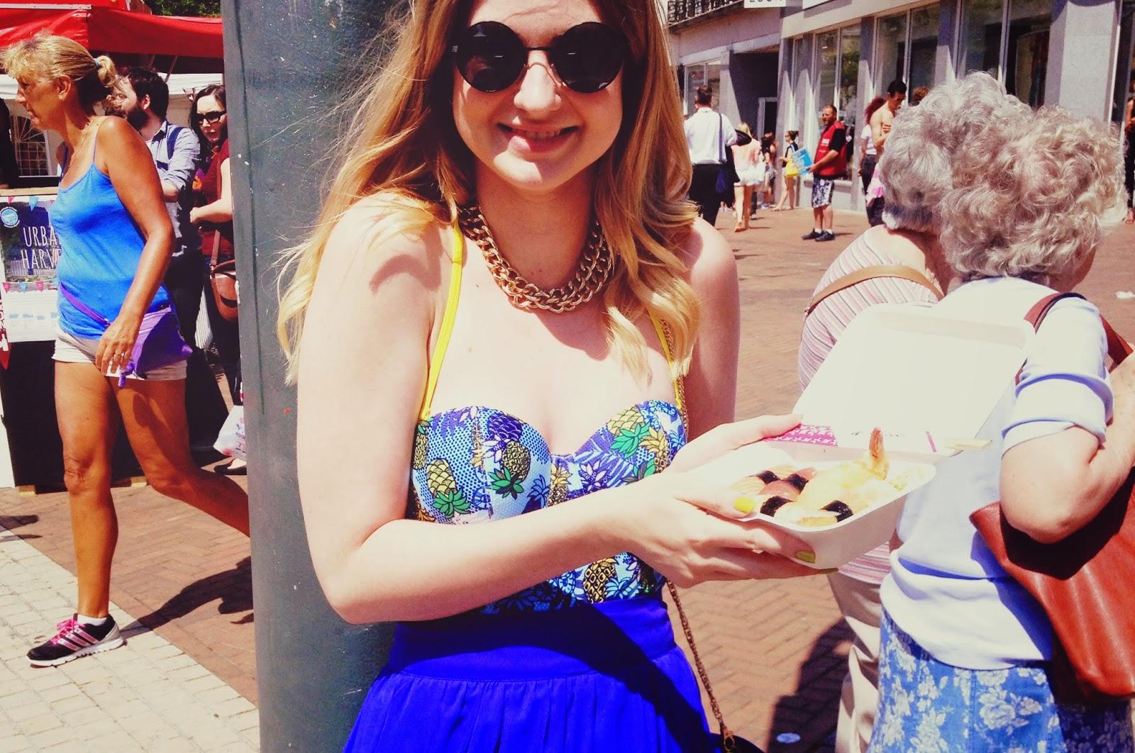 The Bournemouth Food and Drink Festival, food blog, Cleo Swim by Panache, Panache swimwear, fashion blog