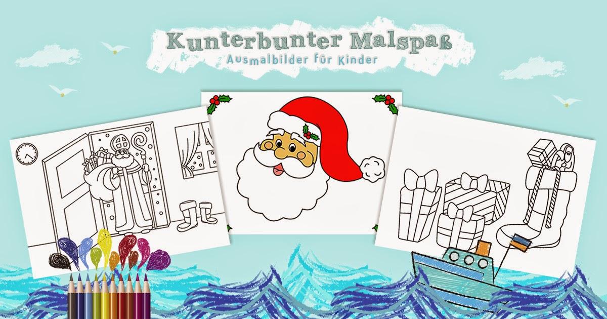 KOSTENLOSE AUSMALBILDER zum Ausdrucken und  - gratis malvorlagen für kindergartenkinder