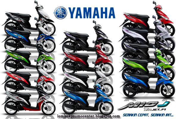 Pilihan Warna Motor Yamaha Mio J