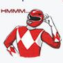 Red Ranger Facebook Sticker