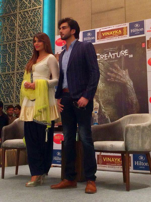 Imran abbas & Bipasha at Pink City Jaipur for promotion of Creature 3D‬ movie