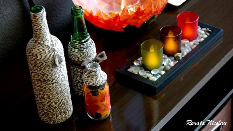 DIY: Decorando com garrafas