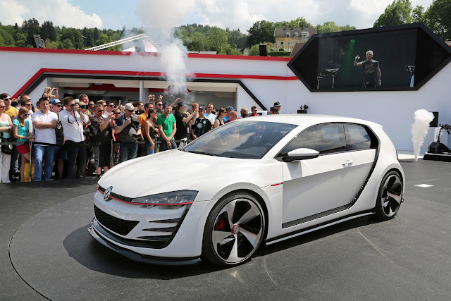 """Design Vision GTI"": The Über VW GTI Lands at Worthersee"