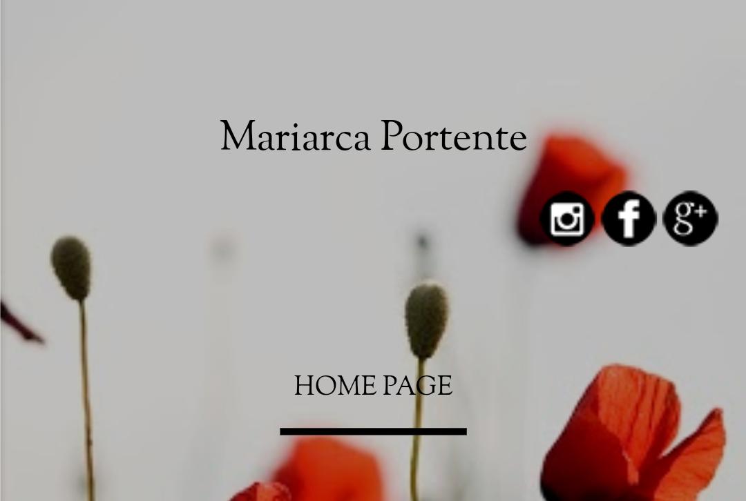 Mariarca Portente   Blogger