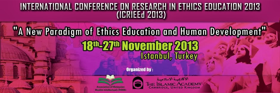 International Conference On Research In Ethics Education 2013