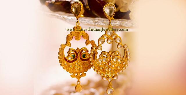 Reversible Kundan Earrings