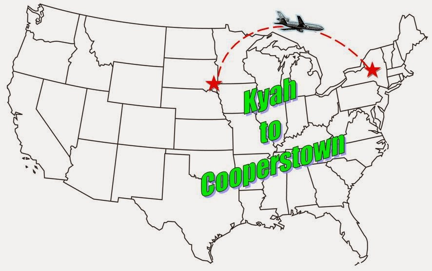 Kyah to Cooperstown