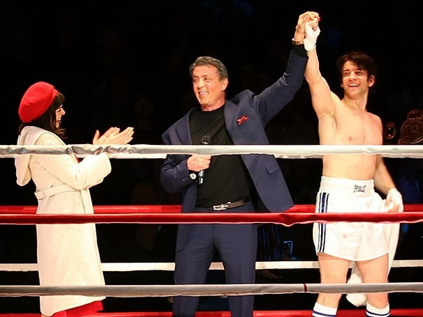 Sylvester Stallone na peça Rocky: The Musical