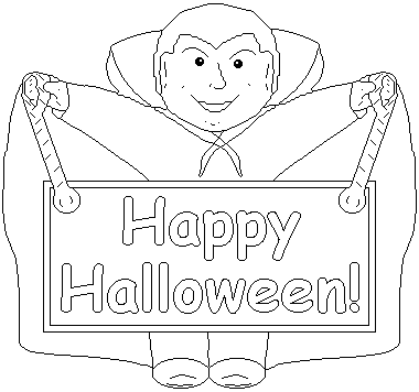Holloween coloring to print team colors for Happy halloween coloring pages printable