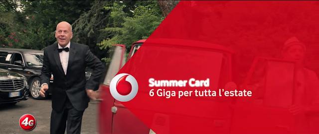 Canzone pubblicità Vodafone Summer Card con Bruce Willis