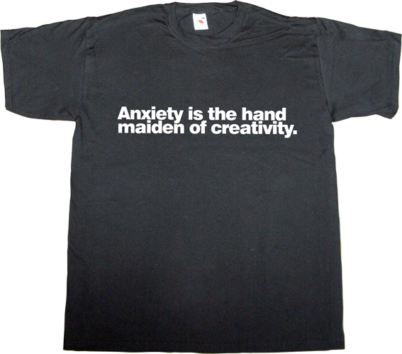 anxiety creativity creative design designer graphic design autobombing t-shirt ephemeral-t-shirts