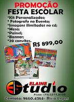 COLÔNIA DE FERIAS DIVERSÃO FERIAS DIVERTIDAS APRENDENDO BRINCANDO ELAINE STUDIO 2014