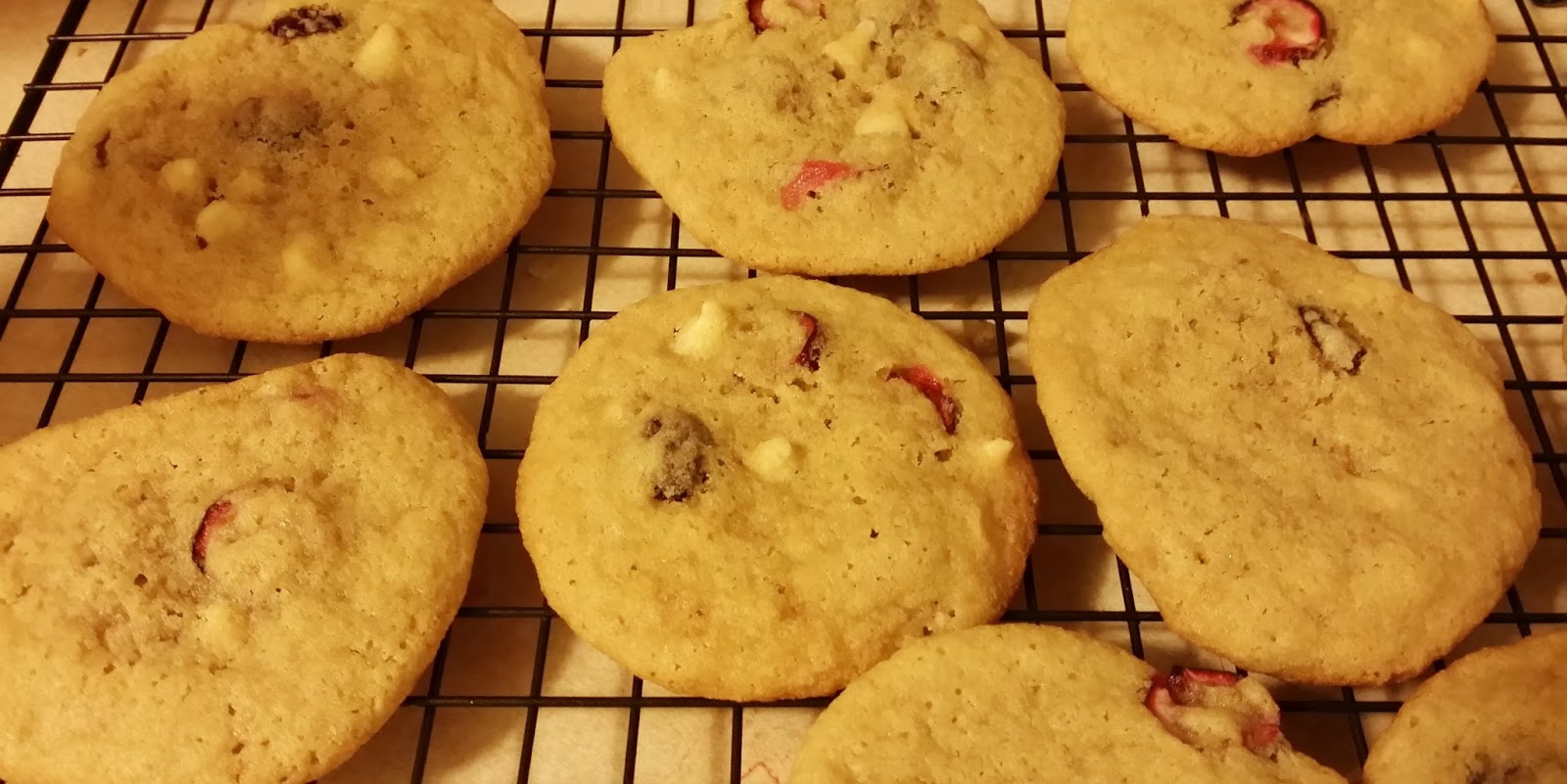 ... , now what?: Cranberry White Chocolate Chip Cookies #SweetCreations
